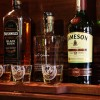 Row of Whiskeys